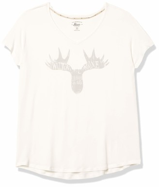 G.H. Bass & Co. Women's Moose Stamp Top