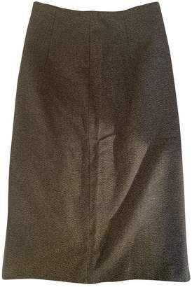 Maison Margiela Grey Cotton Skirt for Women