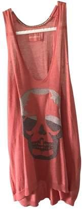 Zadig & Voltaire Red Linen Top for Women