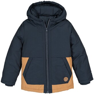 La Redoute Collections Cotton Mix Hooded Parka, 3-12 Years