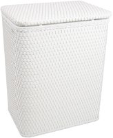 Redmon Chelsea Pattern Wicker Nursery Hamper With Removable Bag
