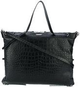 Saint Laurent large ID convertible bag - women - Calf Leather - One Size