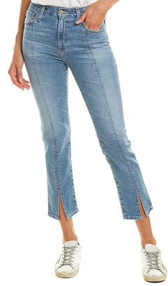 AG Jeans The Isabelle 19 Years Hollows High-Rise Straight Crop