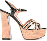L'Autre Chose ankle length sandals