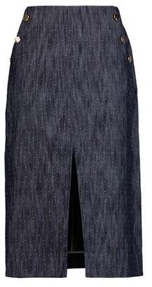 Tanya Taylor Denim skirt