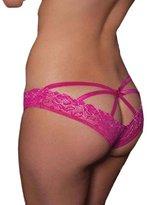 Tonsee Women Open Crotch Crotchless Panties Thongs Underwear (XXXL, )