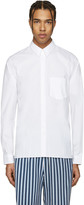 Acne Studios White York Stretch Shirt