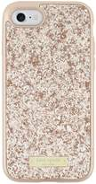 Kate Spade New York Exposed 2 Glitter Fashion Case for iPhone 7 - Rose Gold