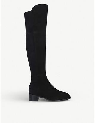 Stuart Weitzman Tia suede over-the-knee boots