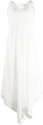 AllSaints Asymmetric Maxi Dress