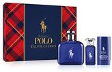 Ralph Lauren Three-Piece Polo Blue Eau de Toilette Set - 152.00 Value