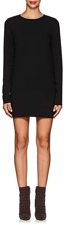 Saint Laurent Women's Crepe Mini-Shift Dress
