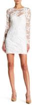 Ark & Co Embroidered Bodycon Mini Dress