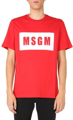 MSGM Box Logo T-Shirt