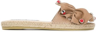 Sergio Rossi x Manebi embellished sandals