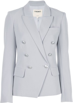 L'Agence Double-Breasted Blazer