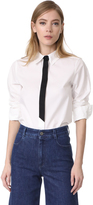 Marc Jacobs Faux Tie Button Down