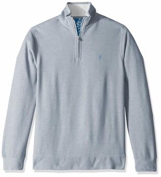 Izod Men's Saltwater Quarter Zip Pullover