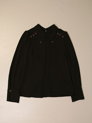 Elisabetta Franchi Shirt With Piercing