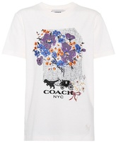 Coach Daisy embroidered T-shirt