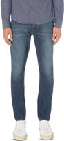 Armani Jeans Mid-wash slim-fit tapered jeans