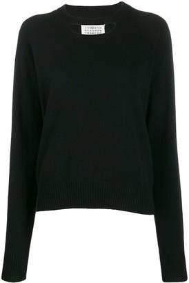 Maison Margiela Cashmere Chest Cut-Out Sweater