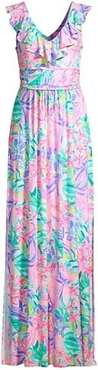 Lilly Pulitzer Mirella Printed Maxi Dress
