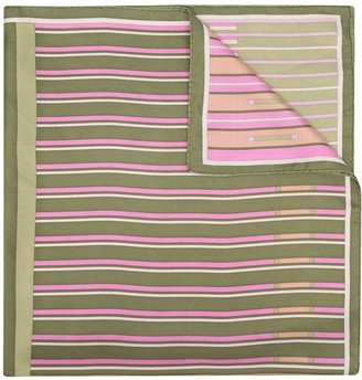 Christian Dior Pre-Owned Striped Scarf