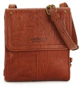 American Leather Co. Leather Crossbody Bag