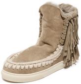 ONE by Mou Eskimo Sneaker Fringe Booties