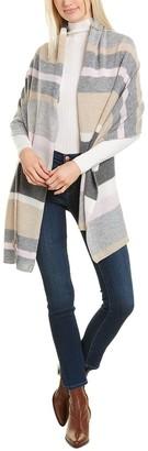 Amicale Cashmere Colorblocked Cashmere Travel Wrap