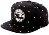 Mitchell & Ness 76ers Starry Night Glow-in-the-Dark Snapback