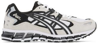 Asics White and Black Gel-Kayano 5 360 Sneakers