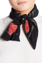Moschino Printed Silk Foulard