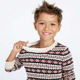 J.Crew Boys' Fair Isle crewneck sweater
