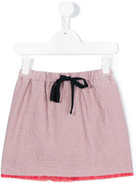 Max & Lola - frayed fine check skirt - kids - Cotton/Lyocell - 4 yrs
