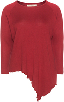 Isolde Roth Plus Size Asymmetric hem knit jumper