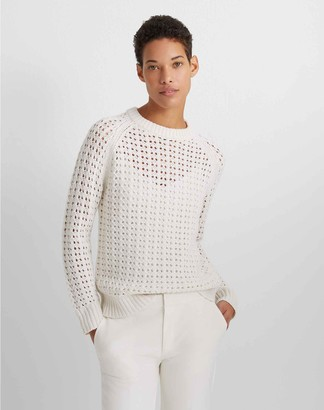 Club Monaco Open-Stitch Sweater