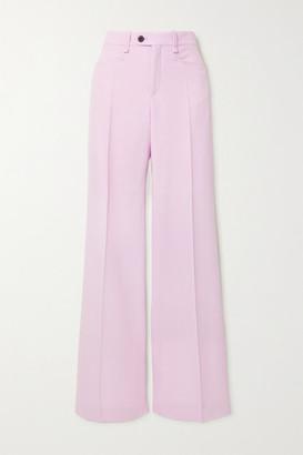 Chloé Wool Wide-leg Pants - Lilac