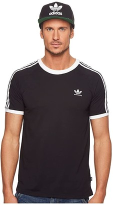 adidas Skateboarding California 2.0 Tee (Black/White) Men's T Shirt