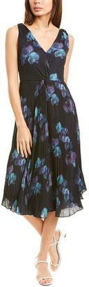 Vince Twist-Front Midi Dress