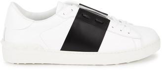 Valentino Garavani Open White Leather Sneakers