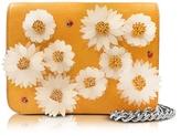 Charlotte Olympia Sinatra Sunshine Yellow Leather Purse w/Chain