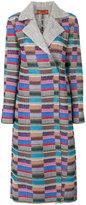 Missoni colour block coat