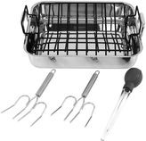 Oneida 6-pc. Stainless Steel Roaster Set