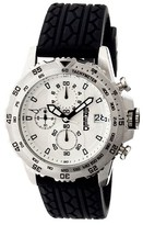 Breed Men's Socrates Watch with Tire-Tread Silicone Strap