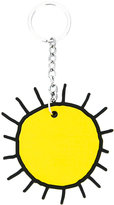 Christopher Kane sun keyring - women - Steel/Brass/Silicone - One Size