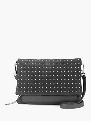 Mint Velvet Holly Leather Stud Cross Body Bag