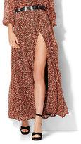 New York & Co. Maxi Wrap Skirt