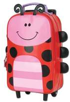 Stephen Joseph Ladybug Rolling Backpack in Red